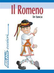 GUIDES DE CONVERSATION ; il romeno in tasca - Couverture - Format classique