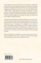 Un Chretien En Terre D'Islam Le Pere Georges Dumont (1916-1998) - Couverture - Format classique