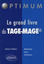 Le grand livre du TAGE-MAGE - Couverture - Format classique