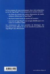 Le grand livre du TAGE-MAGE - 4ème de couverture - Format classique
