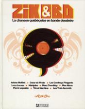 La chanson québécoise en bande dessinée - Couverture - Format classique