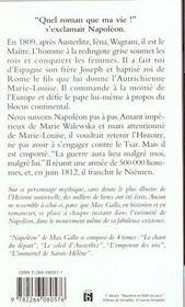 Napoleon t.3 ; l'empereur des rois - 4ème de couverture - Format classique