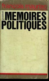 Memoires Politiques. - Couverture - Format classique