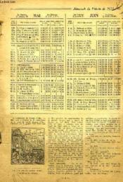 Almanach Du Pelerin, 1932 - Couverture - Format classique