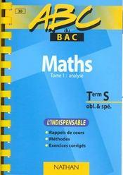 Maths S Methode Vol.1 - Intérieur - Format classique