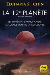 La 12e planète - Couverture - Format classique