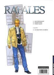 Rafales t.3 ; India Allen - 4ème de couverture - Format classique