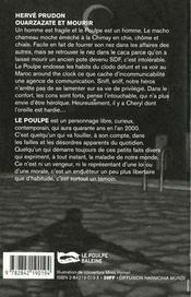 Ouarzazate Et Mourir - 4ème de couverture - Format classique