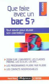 Que faire avec un bac s ? 2e edition - Intérieur - Format classique