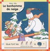 Bonhomme de neige (le) - Intérieur - Format classique