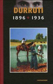Durutti 1896-1936 - Couverture - Format classique