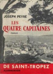 Les quatre capitaines de saint tropez - Couverture - Format classique