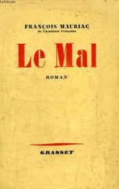 Le Mal. - Couverture - Format classique