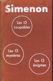 Les 13 Coupables Suivi Les 13 Mysteres Suivi De Les 13 Enigmes. - Couverture - Format classique