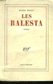 Les Balesta. - Couverture - Format classique
