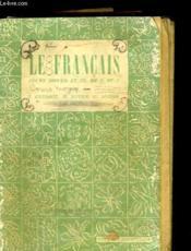 Le Francais - Cours Moyen Et Cl. De 8e Et 7e - Couverture - Format classique