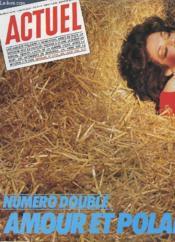 Actuel N°21 22 - Numero Double - Amour Et Polar - Couverture - Format classique
