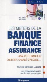 Les métiers de la banque, finance, assurance - Intérieur - Format classique