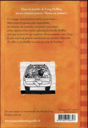Journal d'un dégonflé T.9 ; un looong voyage ! - 4ème de couverture - Format classique