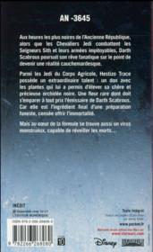 Star Wars - légendes ; moisson rouge - 4ème de couverture - Format classique