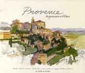 Provence ; aquarelles - Couverture - Format classique