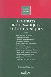 Contrats Informatiques Et Electroniques - Intérieur - Format classique