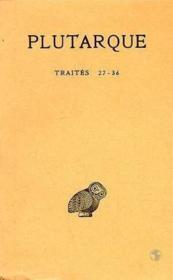 Oeuvres morales t.7 ; 1ère partie - Couverture - Format classique