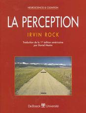 Perception (la) - Intérieur - Format classique