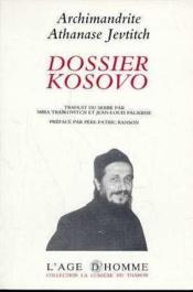 Dossier Kossovo - Couverture - Format classique