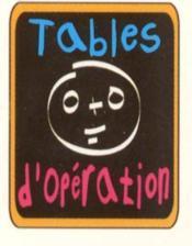 Tables d'operation - Couverture - Format classique