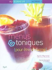 Menus Toniques Pour Etre En Forme - Intérieur - Format classique