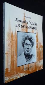 Alexandre Dumas En Normandie - Couverture - Format classique