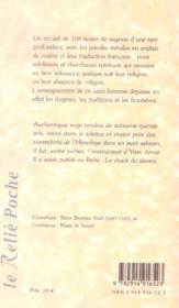 Instructions spontanees - 4ème de couverture - Format classique