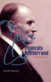 Francois Mitterand - Couverture - Format classique