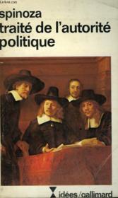 Traite De L'Autorite Politique. Collection : Idees N° 392 - Couverture - Format classique