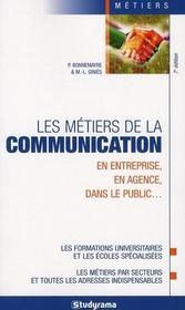 Les métiers de la communication - Intérieur - Format classique