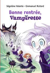 Bonne rentrée, Vampirette - Couverture - Format classique