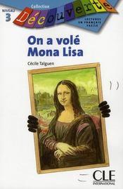 On a volé Mona Lisa - Intérieur - Format classique