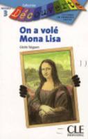 On a volé Mona Lisa - Couverture - Format classique