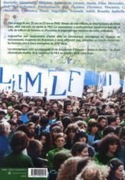 Génération MLF 1968-2008 - 4ème de couverture - Format classique