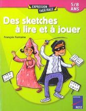 Sketches à lire et à jouer (édition 2002) - Intérieur - Format classique
