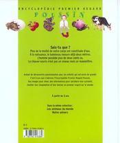 Encyclopedie Premier Regard - 4ème de couverture - Format classique
