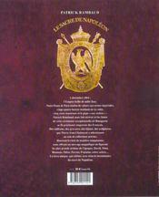 Le Sacre De Napoleon. 2 Decembre 1804 - 4ème de couverture - Format classique