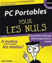 Pc portables edition Windows Vista pour les nuls - Intérieur - Format classique