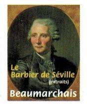 Le barbier de Séville - Couverture - Format classique