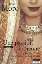 Une passion indienne t.1 - Couverture - Format classique