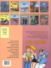 Léo Loden t.4 ; grillade provençale - 4ème de couverture - Format classique