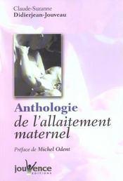 Anthologie De L'Allaitement Maternel N.164 - Intérieur - Format classique