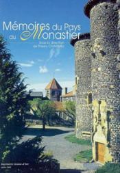 Memoires au pays de monastier - Couverture - Format classique