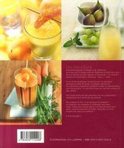Les smoothies de caroline - 4ème de couverture - Format classique
